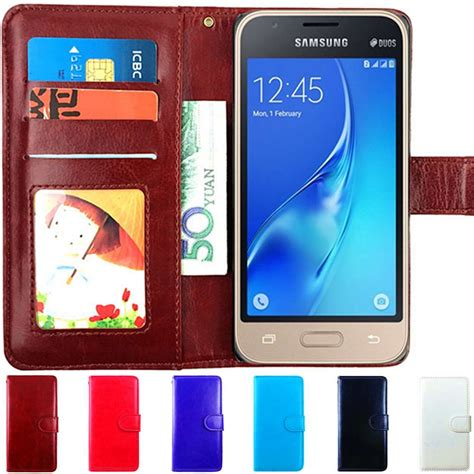 Book Flip Shell Samsung Galaxy J1 Ace aliexpress buy j1 6 cover leather wallet flip for samsung galaxy j1 mini 2016