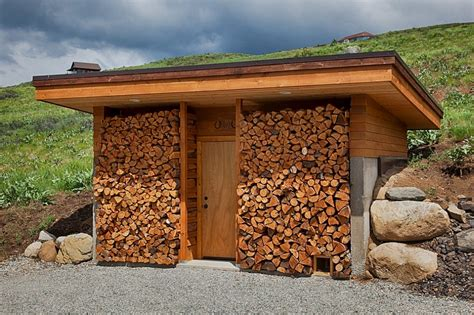 Storing Firewood In Garage by The Artful Woodpile 30 Fabulous Firewood Storage Ideas