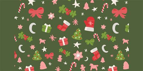 christmas pattern ai free christmas graphic resources for designers