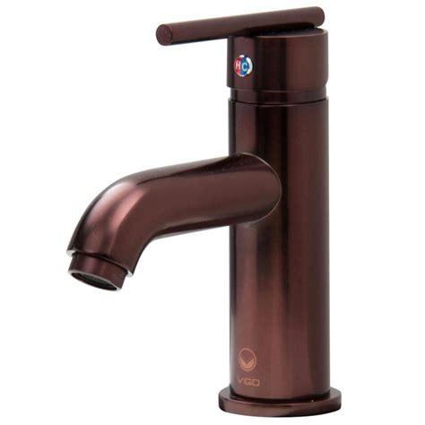 lowes oil rubbed bronze bathroom faucet shop vigo oil rubbed bronze 1 handle single hole