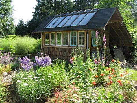 Garden Shed Windows by Greenhouses From Windows And Doors Nifty Homestead