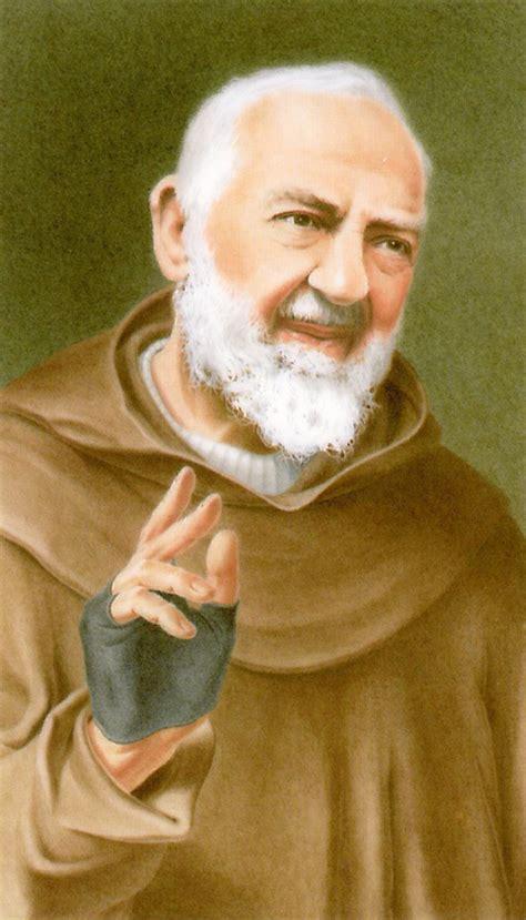 padre pio biography in spanish pio prayer card