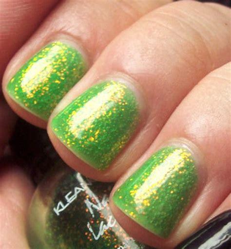 Toe Nail Sticker Kuku Kaki 5128 green glitter gel nails best image nail 2017