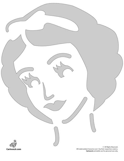 printable pumpkin stencils free disney snow white disney princess pumpkin stencil woo jr kids