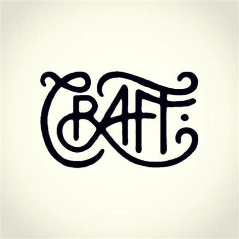 Handcraft Logo - best 25 typography tattoos ideas on