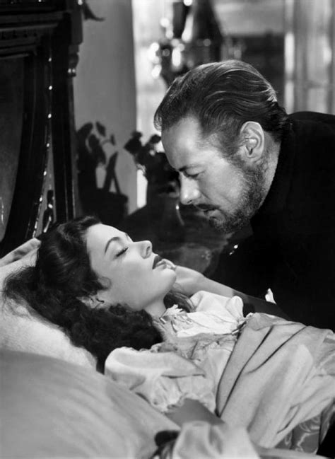 Gene Tierney & Rex Harrison in The Ghost and Mrs Muir. Oh
