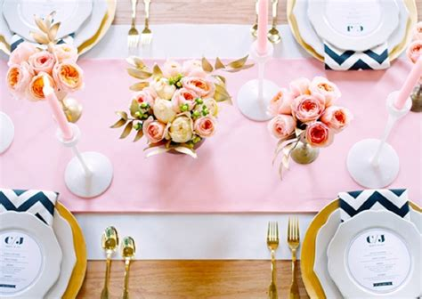 Pink And Gold Table Setting by 10 Gorgeous Table Setting Ideas How To Set Your Table