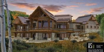 timber frame homes plans the spanish peaks floor plan by canadian timberframes ltd