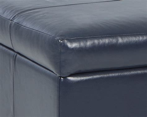 Made Ottoman American Made Leather Storage Ottoman April Cl27