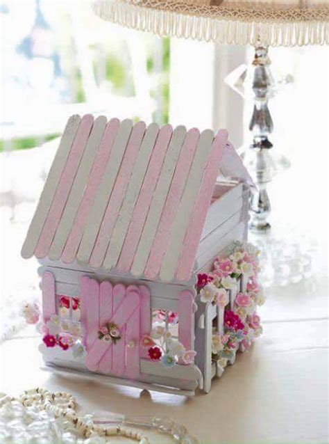 casa con palitos de madera manualidades para ni os manualidades con palitos de madera 9 decoracion de