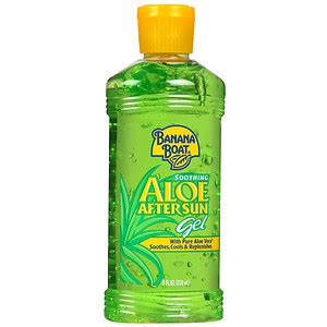 allergic reaction to banana boat tanning oil banana boat soothing aloe after sun gel drugstore