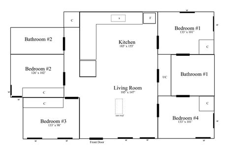 floor plans with measurements 88norwich