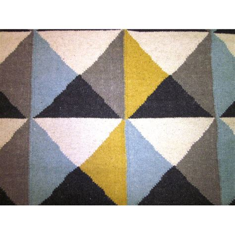 Yellow And Blue Rugs by Sweden Yellow Blue Rug Temple Webster