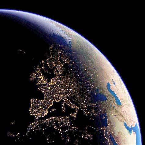 World Lighting by D 252 Nyan莖n Uzaydan Geceleyin 231 Ekilmi蝓 Ger 231 Ek Foto茵raflar莖