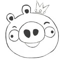 angry birds pigs coloring coloring pages