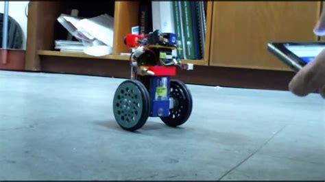 Two Wheels mini two wheels self balancing robot version 2 prototype