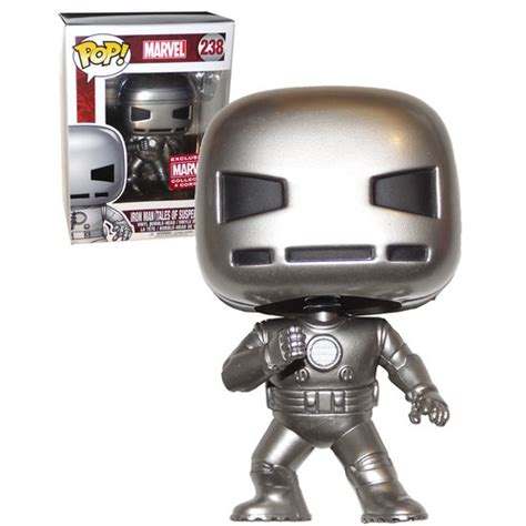 Funko Pop Marvel Appearance Iron Tales Gold funko pop marvel 238 iron tales of suspense 39 collector corps exclusive