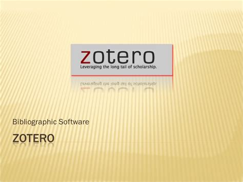 tutorial zotero zotero tutorial