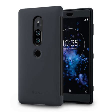 official sony xperia xz premium scth style cover touch