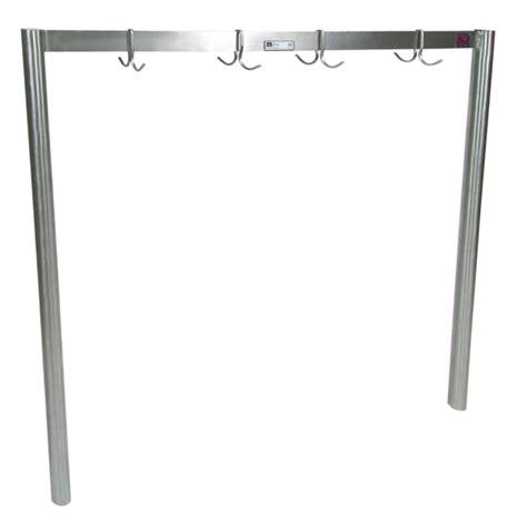 pot rack bar john boos stainless steel single bar pot racks prs4