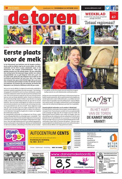 De Toren Week 49 2015 By Weekblad De Toren Issuu by De Toren Week 42 2015 By Weekblad De Toren Issuu