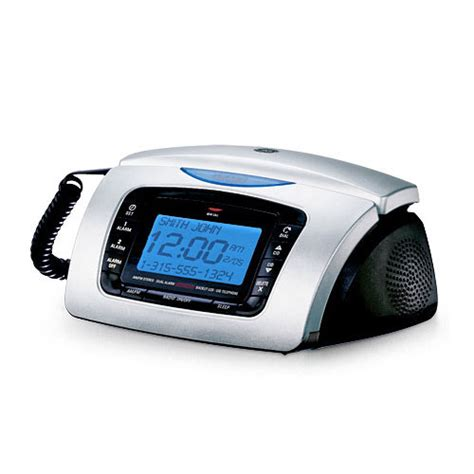 ge alarm clock radio corded bedroom phone gosale price