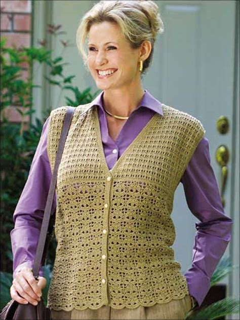 free pattern vest crochet 14 crochet vest patterns guide patterns