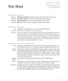 cv format nz cv and cover letter templates careers nz tips for creating a nz style