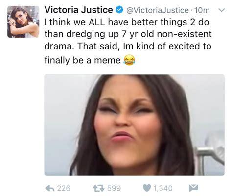 Victoria Meme - pop crave on twitter quot victoria justice acknowledges meme