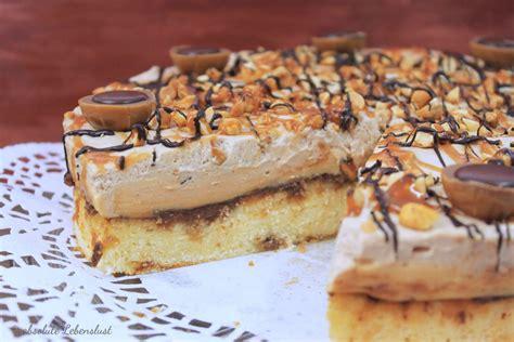 kuchen zum selberbacken toffifee torte backen karamell nougat torte absolute