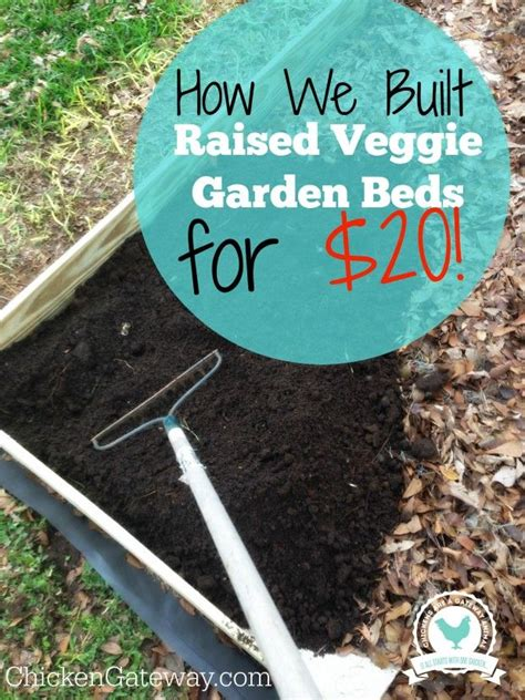 cheap raised beds 1000 ideas about cheap raised garden beds on pinterest diy raised garden beds easy