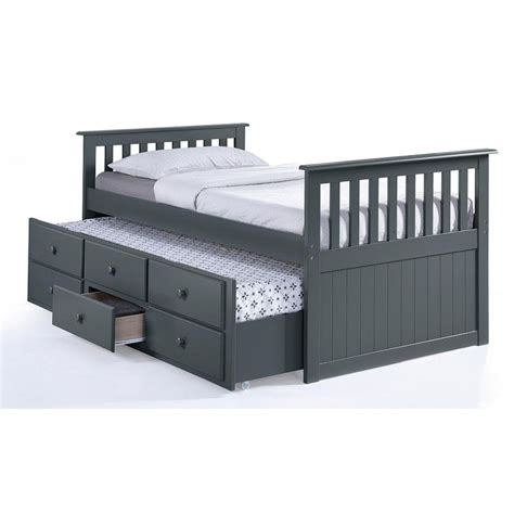 captains bed with trundle 25 best ideas about bed with trundle on