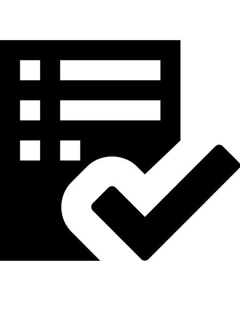 File:Octicons-checklist.svg - Wikimedia Commons