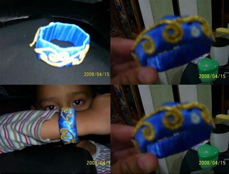 membuat gelang tangan dari barang bekas sentuhan tangan gelang dari botol bekas air mineral