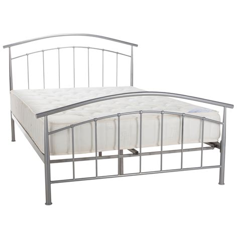 silver bed frame mercury silver bed frame next day select day delivery