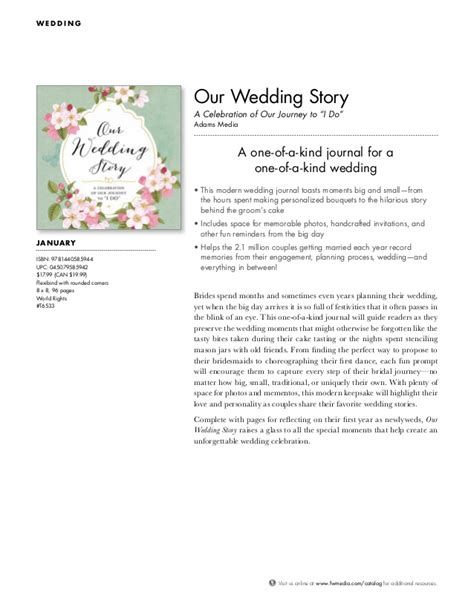 Wedding Story by Our Wedding Story A Celebration Of Our Journey To Quot I Do Quot