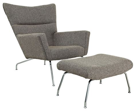 dove chair and ottoman oatmeal midcentury armchairs and