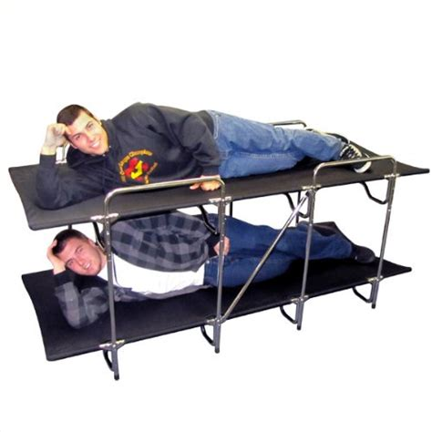 bunk bed cots cheap cing bunk beds invented4you