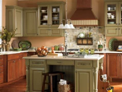 ideas for kitchen cabinet colors painting kitchen cabinets ideas with beautiful colors