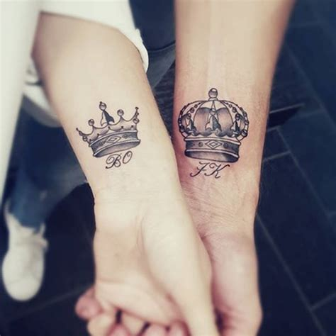 queen tattoo name 80 king and queen tattoo designs for couples