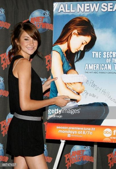 secret commercial photographer actress actress shailene woodley promotes the secret life of the