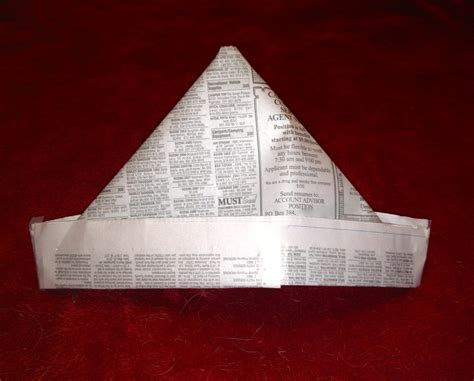 Make A Paper Hat Out Of Newspaper - the with the paper hat part 1 of 2