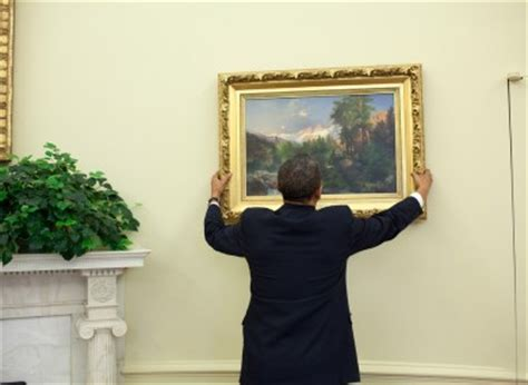 oval office paintings obama revs the white house art collection 183 the daily edge