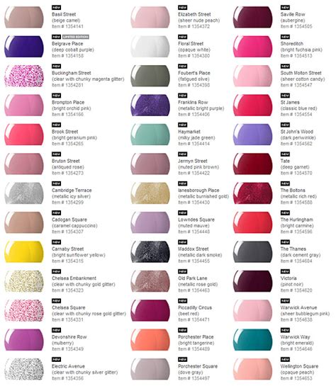 From London To L A Nails Inc Nail Polishes Launching Inc Color