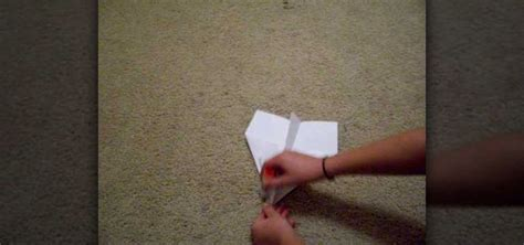 How Do You Make A Glider Paper Airplane - how to make a basic paper airplane glider 171 papercraft