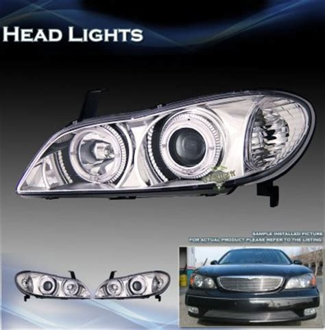 2000 infiniti i30 headlights infiniti i30 2000 2001 clear projector headlights with