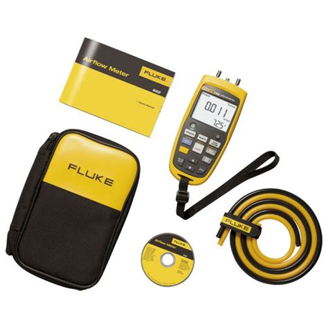 Fluke 922 Kit Airflow Meter Kit Micromanometer Micro Manometer fluke 922 airflow meter kit