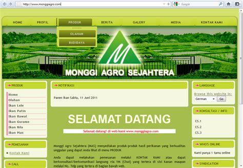 contoh layout desain web kumpulan contoh web design sederhana marsandre jatilaksono