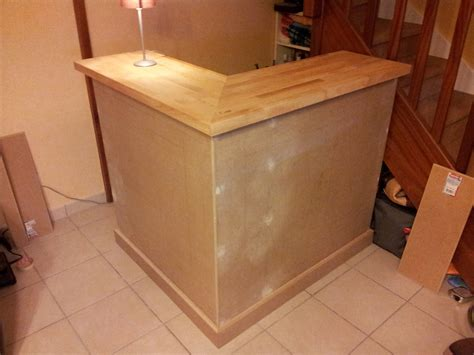 Fabriquer Un Comptoir Bar by Comment Fabriquer Un Bar En Bois
