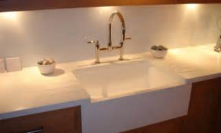 kitchens with belfast sinks belfast sink effect using corian 174 sinks kitchens